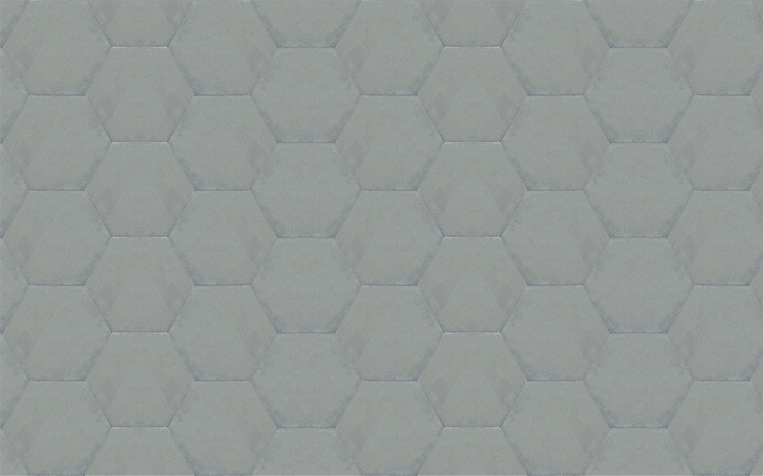 gris-liso-hexagonal